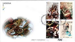 Kosovo Stamps 2019. Modern Arts. FDC MNH - Kosovo