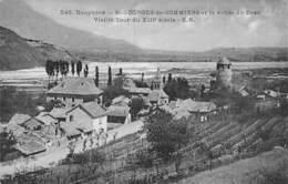 38 - ST GEORGES De GOMMIERS : Vieille Tour Du XIII° Et Vallée Du Drac - CPA Village (2.145 Habitants) - Isère - Other Municipalities
