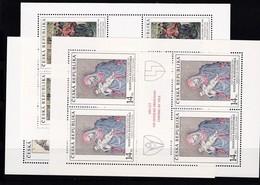 (K 4194ac Tschechische Republik, KB Nr. 56/58** - Blocks & Kleinbögen