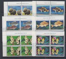 Greece 1981 Fauna 6v Bl Of 4 (corners) ** Mnh (43531A) - Ongebruikt