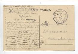 3207/ CP Bruges C.Agence & Fortune Brugge 14 18/12/18 > Antwerpen C.méc.en Arrivée - Postmark Collection