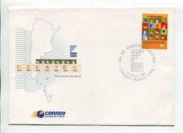 ARGENTINA - CENSO 2001. SOBRE PRIMER DIA ENVELOPE FDC- LILHU - Otros