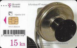 Croatia - Hrvatski Telekom - HT Museum - E.V.R.T. Budimpešta, 1909.g. Telephone - Exp. 12.2011, Used - Croatia