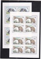 (K 4194c) Tschechische Republik, KB Nr. 78/79** - Blocks & Sheetlets