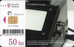Croatia - Hrvatski Telekom - HT Museum - Rade Koncar, Zagreb, 1946. G. Telephone - Exp. 12.2011, Used - Croatia