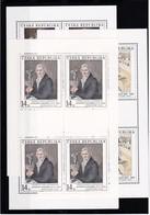 (K 4194c) Tschechische Republik, KB Nr. 96/98** - Blocks & Sheetlets