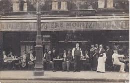 NEUILLY SUR SEINE CAFE CHARRIERE  44 BD DU CHATEAU CARTE PHOTO - Neuilly Sur Seine
