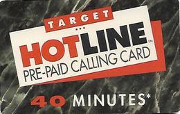 U.S.A.  PREPAID CARD-HOTLINE - Altri