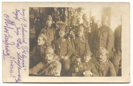 AUSTRIA HUNGARY WW1 - K.u.K. FELDPOST Seal 36. ITD, Year 1915 - Weltkrieg 1914-18
