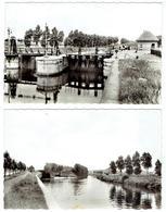 HARELBEKE - Lot 5 Kaarten Echte Foto - Sas - RMS - Kerk - Oorlogsmonument - Sas - Harelbeke