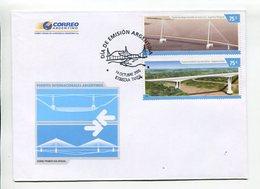 ARGENTINA - PUENTES INTERNACIONALES ARGENTINOS, 2006. SOBRE PRIMER DIA ENVELOPE FDC- LILHU - Puentes