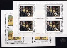 (K 4195a) Tschechische Republik, KB Nr. 130 /31** - Blocks & Kleinbögen