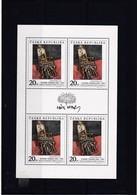 (K 4195a) Tschechische Republik, KB Nr. 125** - Blocks & Sheetlets