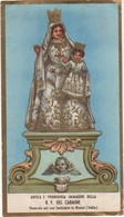 Santino Antico Cromo Madonna Del Carmine Da Rimini - Religion & Esotérisme