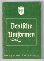 Kleines Heft : Deutsche Uniformen ( Ruhl ) - Andere
