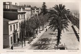 SAN JUAN DE VILASAR-CALLE S. PABLO- VIAGGIATA 1956-REAL PHOTO - Barcelona