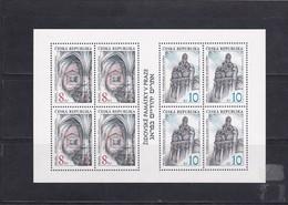 (K 4195c) Tschechische Republik, KB Nr. 142/43** - Blocks & Sheetlets
