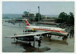 Aviation // 1 Foker VIIa 8 Places Et 1 DC 9 75 Places - 1946-....: Era Moderna