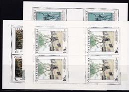 (K 4195c) Tschechische Republik, KB Nr. 161/63** - Blocks & Sheetlets