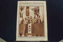 RIVISTA GIORNALE IL GAZZETTINO ILLUSTRATO ANNI 30 VENEZIA S.E. TURATI A SARZANA LA SPEZIA IN LIGURIA - Libri, Riviste, Fumetti