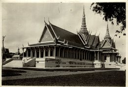 INDOCHINE THE THRONE HALL +- 18*13CMFonds Victor FORBIN (1864-1947) - Lugares