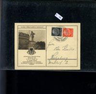Deutsches Reich, ZD S 135 Auf Sonderpostkarte - Zusammendrucke