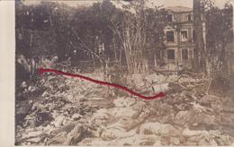 (80) - Manancourt Schloss Mit Leichen Vor Cadavres De Soldats  Photo Allemande 1° Guerre - France