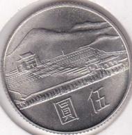 Chine Taiwan. 5 Yuan 1965 (Yr.54) Chiang Kai-shek. Y# 537 - China
