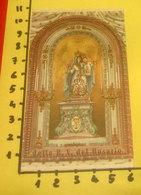 Antica Prodigiosa Immagine Della B. V. Del ROSARIO Venerata Rimini  SANTINO Preghiera E Ricordo Pia Opera Santo Rosario - Devotion Images
