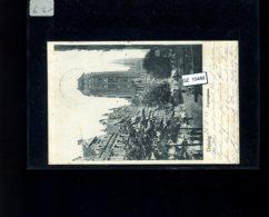 Deutsches Reich, AK Danzig 25.08.1903 (mit Germaniamarke) - Deutschland