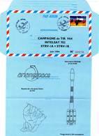 Aérogramme - INTELSAT 702 / ESPACE  (17/06/1994) - Tirage Limité - - Storia Postale