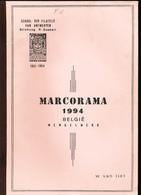 963/25 --  LIVRE MARCORAMA 1994 , Belgie Mengelwerk , Par Van Riet , 171 Pg. - TB Etat - Philatélie Et Histoire Postale