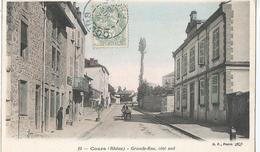 CPA  632 - COURS Grande Rue Coté Sud  -  Animations- - France