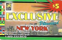 U.S.A.  PREPAID CARD-IDT - Altri