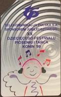 Telefonkarte Polen - Musikfestival - Konin - Poland