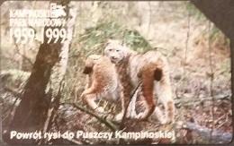 Telefonkarte Polen - Luchs - Poland