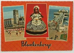 (78) Groeten Uit Blankenberge - Het Strand - De Pier - Blankenbergse Popje. - Souvenir De...