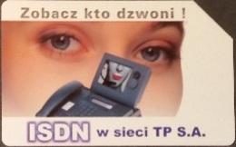 Telefonkarte Polen - Werbung - ISDN - Poland