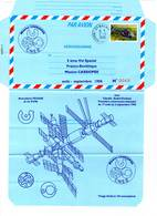 Aérogramme - Mission Cassiopée / ESPACE  (02/09/1996) - Tirage Limité - - Storia Postale