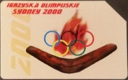 Telefonkarte Polen - Sport - Olympia - Sydney - Poland
