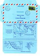 Aérogramme - Station Orbitale MIR / ESPACE  (23/03/2001) - Tirage Limité - - Storia Postale