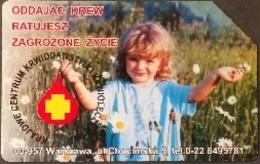 Telefonkarte Polen - Blutspende - Kind - Poland