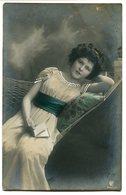 CPA - Carte Postale - Fantaisie - Portrait De Femme - 1909 (B9407) - Vrouwen