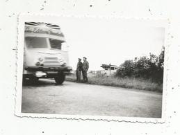 Photographie , Automobile, Camions ,  85 X 60 Mm - Cars