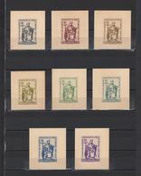 ++ 1963 Cyril And Methodius 30 Nominal In Different Colour Thick Paper Colour Proof - Essais & Réimpressions