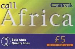 REGNO UNITO- CARTA PREPAGATA-CALLTRAK -CALL AFRICA - Regno Unito