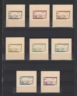 ++ 1946 Algerie Aviapost 40 Nominal In Different Colour Thick Paper Colour Proof - Poste Aérienne