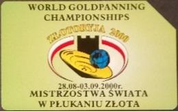 Telefonkarte Polen - Weltmeisterschaften Im Goldwaschen - Poland