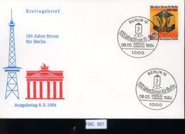 Berlin, FDC, 6 Lose U.a. 1984, Mi.-Nr. 720 - [5] Berlin
