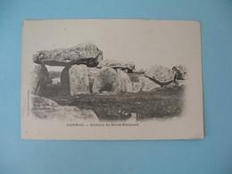 CPA Carnac - Dolmen De Mané-Kerioned - Carnac